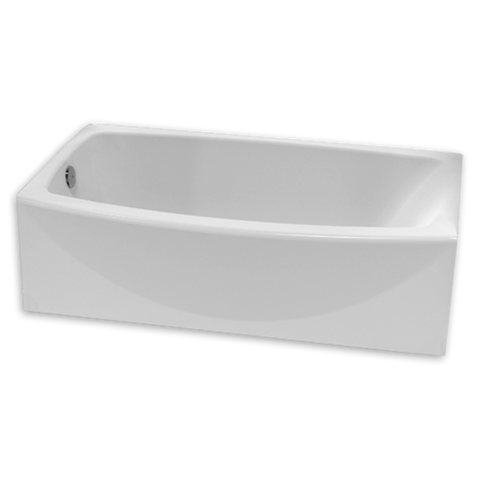 American Standard Ovation Curved Right Hand Drain Bathtub 2647112.011