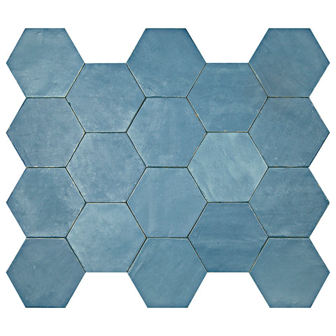 "Casablanca Series River 5.5"" x 6.3"" Hexagon"