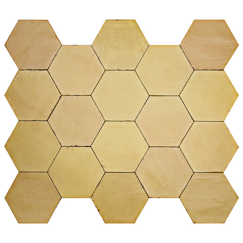 "Casablanca Series Sahara 5.5"" x 6.3"" Hexagon"