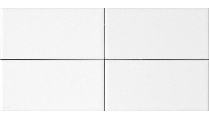 3 x 6 Glossy White Subway Tile Contempo