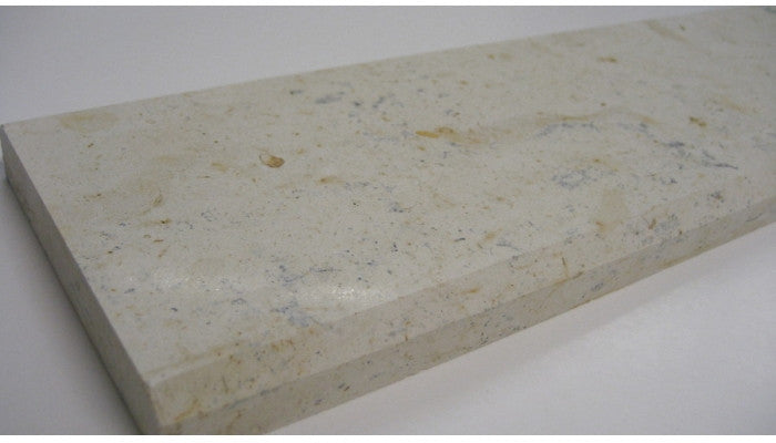 Marble Door Saddle/Threshold Italian Cream 2 Bevels (Multiple Sizes in Stock!)