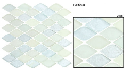 Aquatica Series Glass Mosaic Misty Water AQ-2004