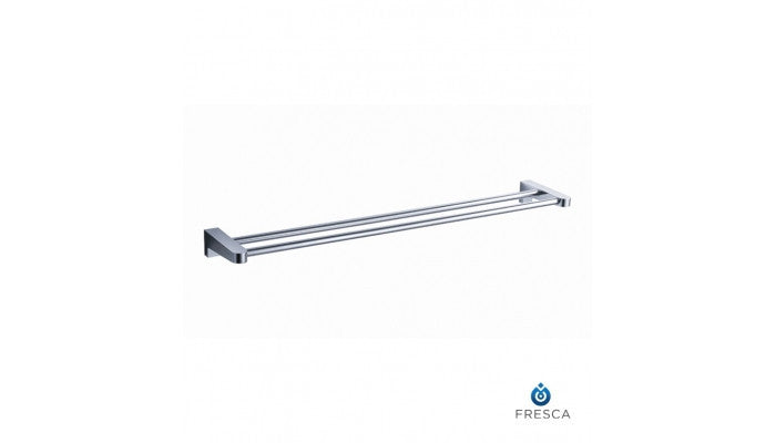 "Fresca Generoso 20"" Double Towel Bar in Chrome FAC2339"