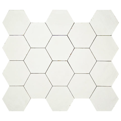 "Casablanca Series Wind 5.5"" x 6.3"" Hexagon"