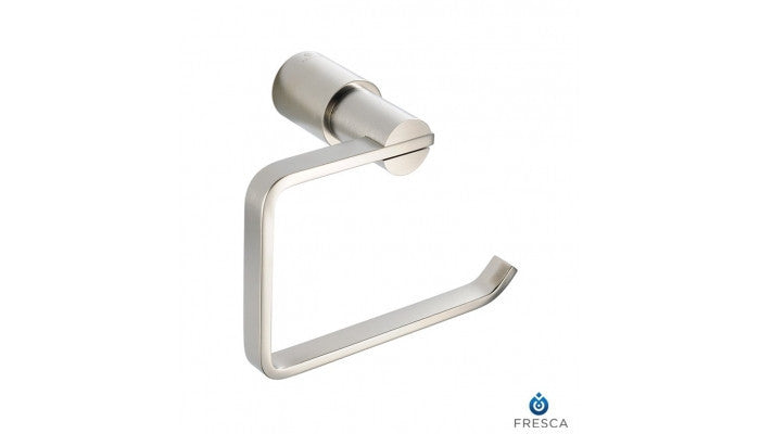 Fresca Magnifico Toilet Paper Holder in Brushed Nickel FAC0127BN