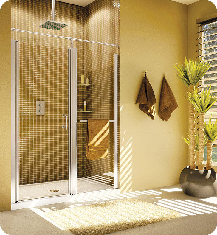 Fleurco Banyo Sevilla In Line 41-43 Semi Frameless In Line Pivot Door E4143-11-40