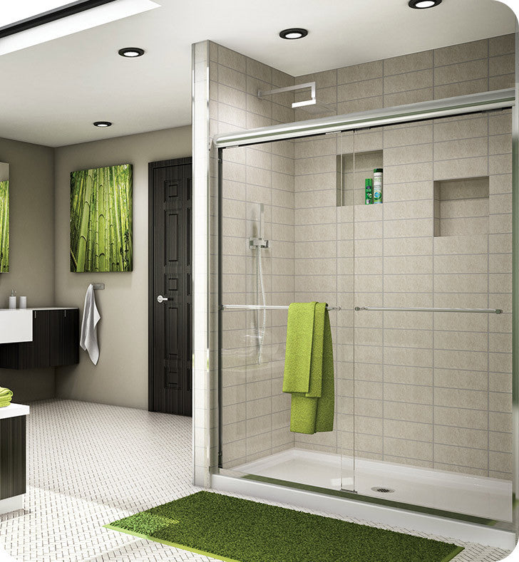 Fleurco Banyo Cordoba Semi Frameless In Line Sliding Shower Doors ES10