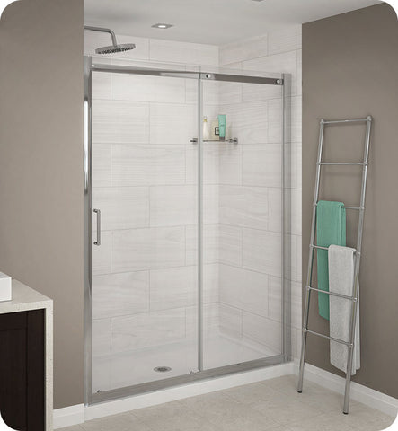 Fleurco Banyo Shuttle In Line 48 Semi Frameless Sliding Door STS48