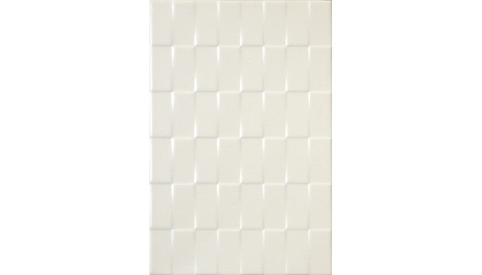 Olympia Tiles Twill White Ivory Matte 8 x 12 Ceramic (Call for Price)