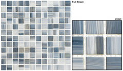 Highclere Manor Series Glass Mosaic Hampshire Dusk HM-431