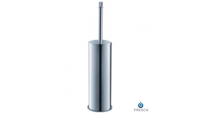 Fresca Glorioso Chrome Toilet Brush/Holder in Chrome FAC1133