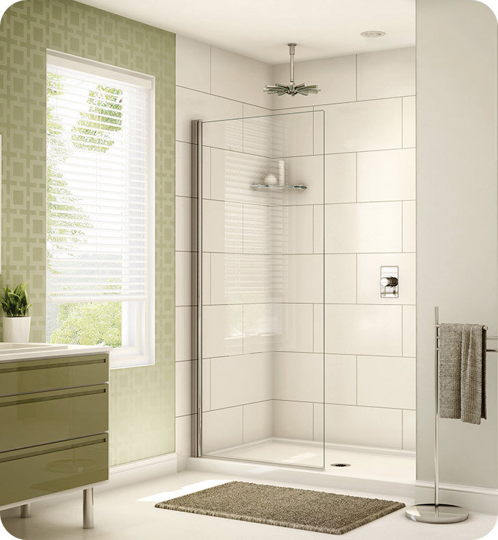 Fleurco Banyo Siena Solo Semi Frameless In Line Shower Shield EST34