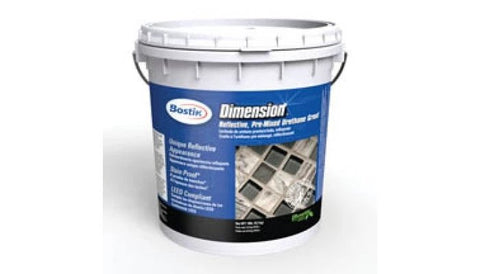 Bostik Dimension Reflective Pre-mixed Urethane Grout 18lbs H690 Snowflake