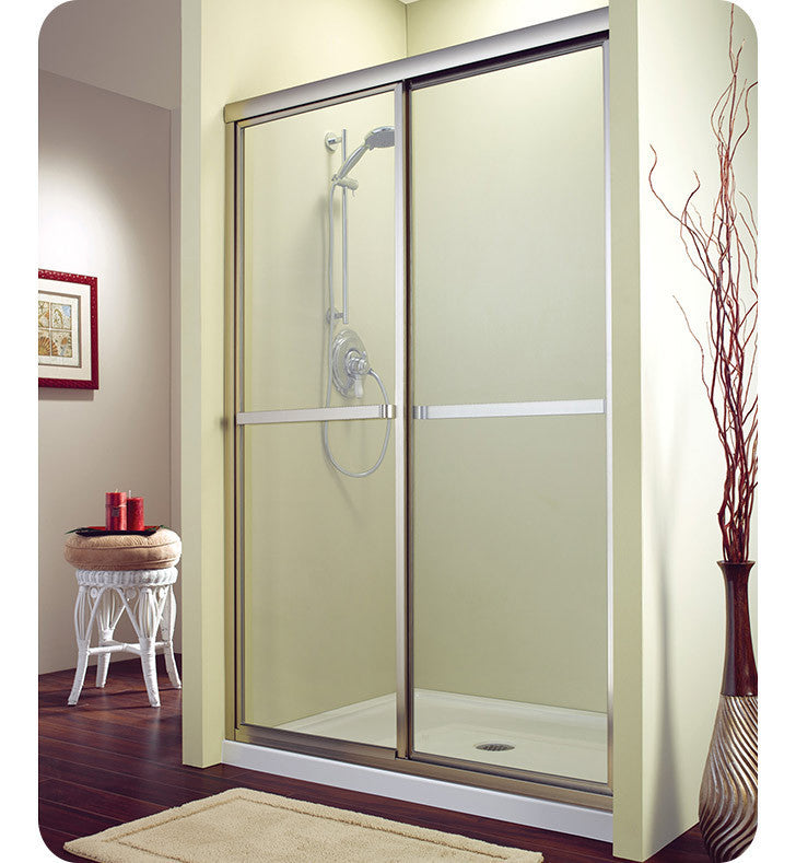"Fleurco Signature Catalina 48"" Sliding Shower Enclosure FMS1448"
