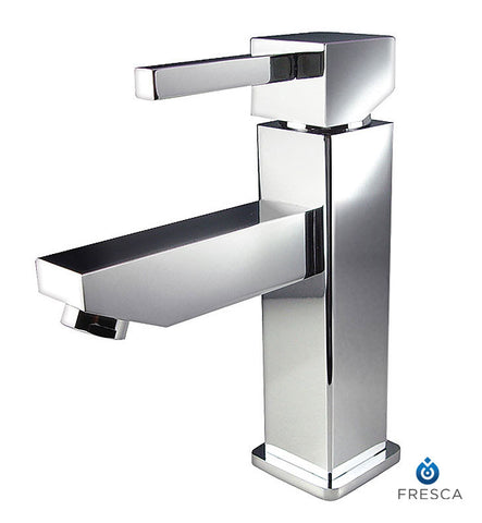 Fresca Bevera Single Hole Bathroom Faucet in Chrome FFT1030CH