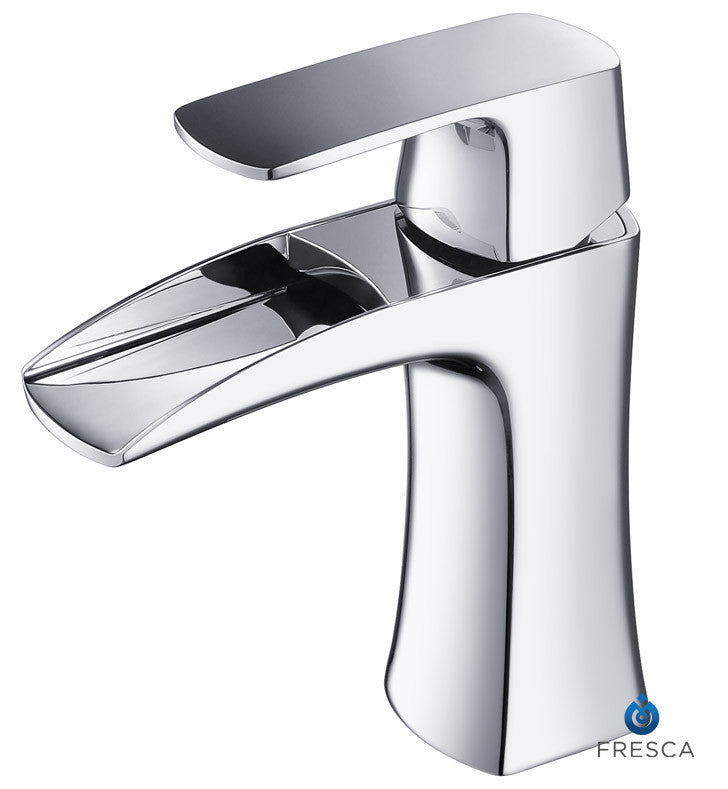 Fresca Fortore Single Hole Mount Bathroom Faucet in Chrome FFT3071CH