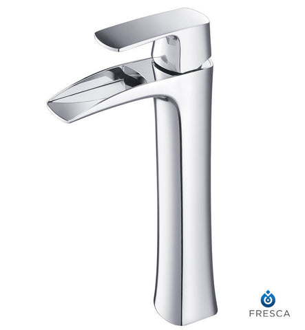Fresca Fortore Single Hole Vessel Mount Bathroom Faucet in Chrome FFT3072CH