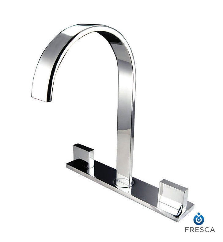 Fresca Sesia Widespread Mount Bathroom Faucet in Chrome FFT3801CH