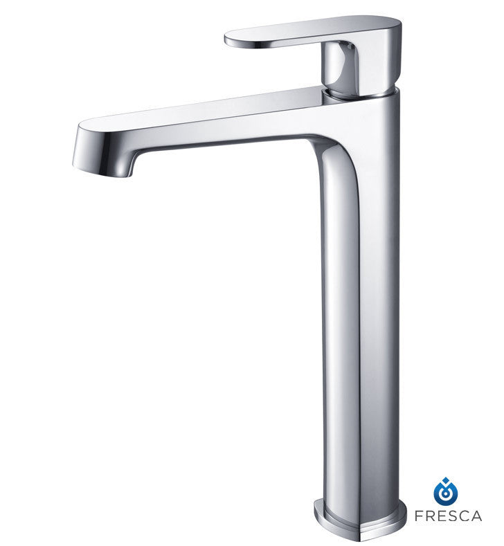 Fresca Gravina Single Hole Vessel Mount Bathroom Faucet in Chrome FFT9132CH