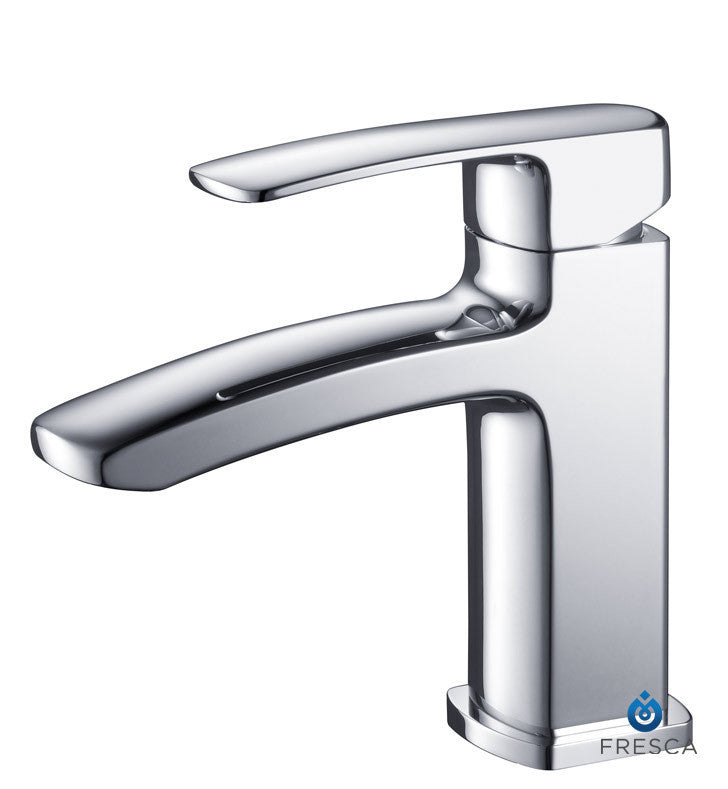 Fresca Fiora Single Hole Mount Bathroom Faucet in Chrome FFT9161CH