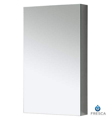 "Fresca FMC8015 15"" Wide Bathroom Medicine Cabinet with Mirrors"
