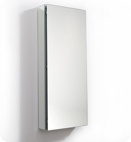 "Fresca FMC8016 15"" Wide x 36""  Tall Bathroom Medicine Cabinet with Mirrors"