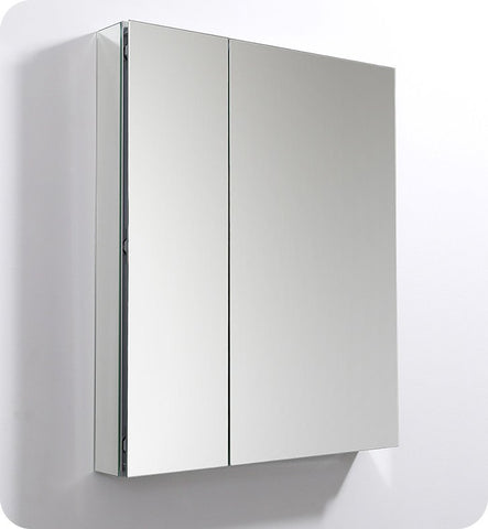 "Fresca FMC8091 30"" Wide x 36"" Tall Bathroom Medicine  Cabinet with Mirrors"