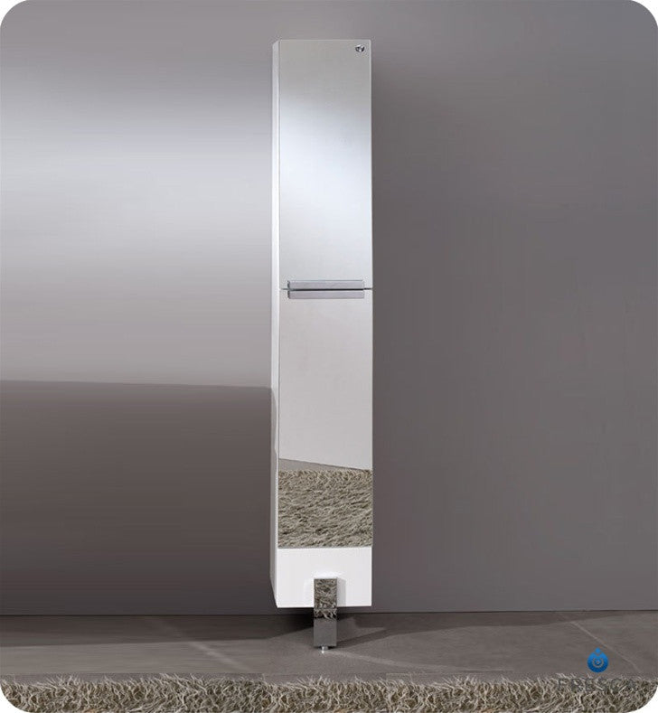 Fresca Adour Mirrored Bathroom Linen Side Cabinet FST8110MR