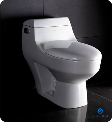 Fresca Columbia Elongated Toilet FTL2108
