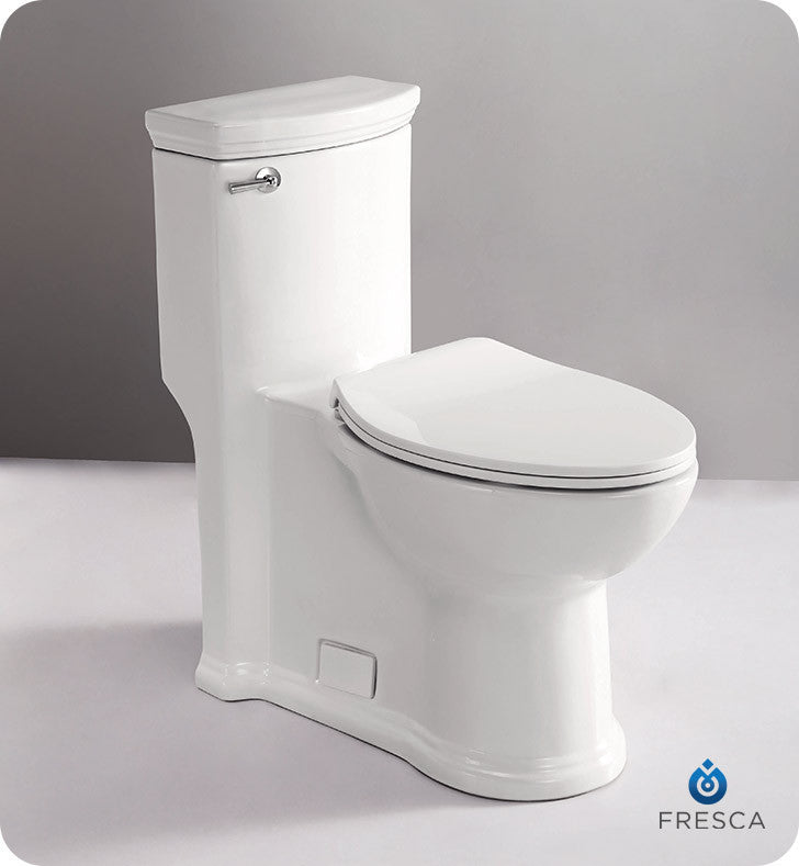 Fresca FTL2364 Athena One-Piece Contemporary Toilet