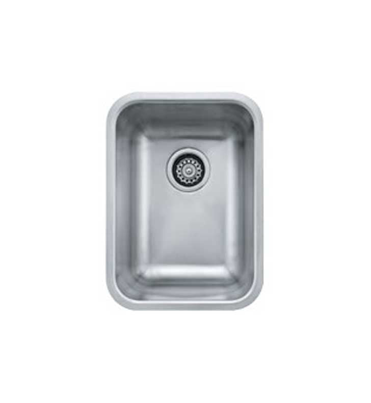 Franke GDX11012 Grande Single Basin Undermount Stainless Steel Kitchen Sink