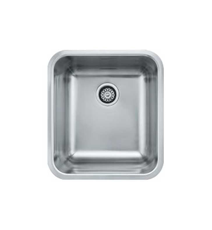Franke GDX11018 Grande Single Basin Undermount Stainless Steel Kitchen Sink