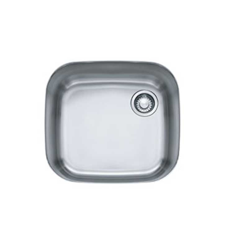 Franke GNX11020 Euro Pro Single Basin Undermount Stainless Steel Kitchen Sink