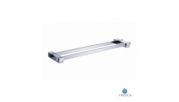 "Fresca Ellite 20"" Double Towel Bar in Chrome FAC1439"