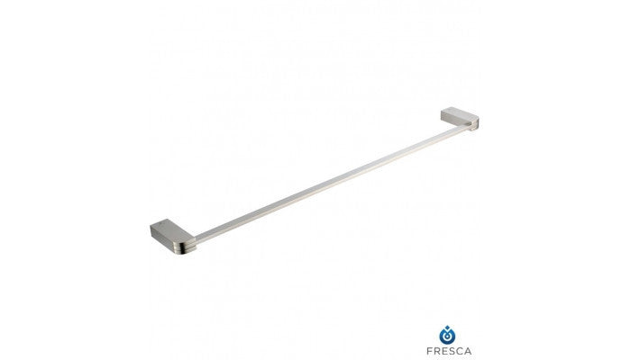 "Fresca Solido 24"" Towel Bar in Brushed Nickel FAC1337BN"