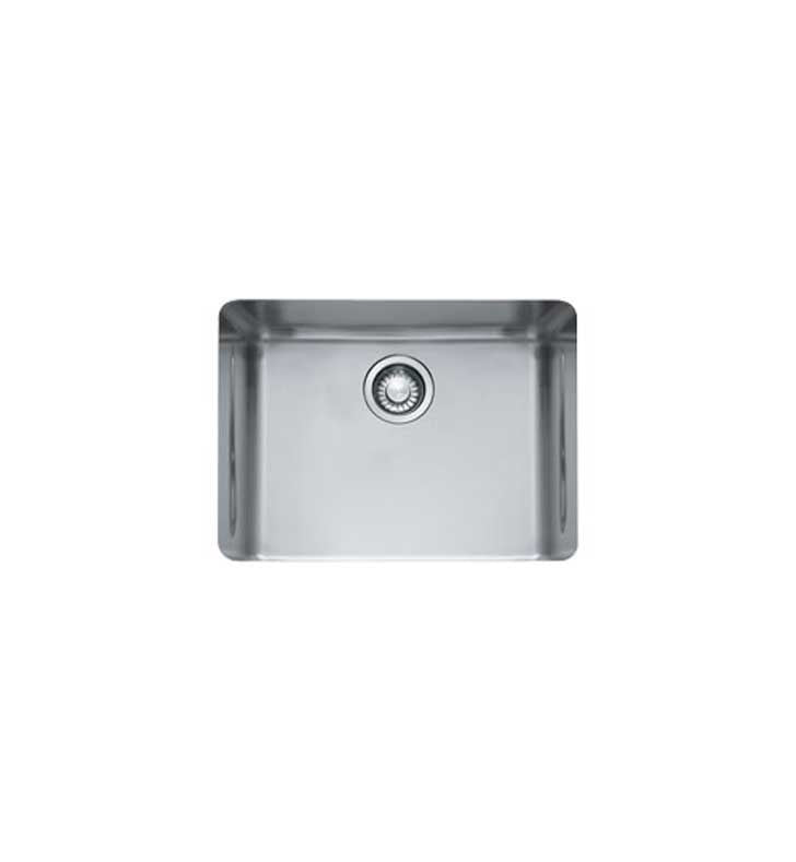 Franke KBX11021 Kubus Single Basin Undermount Stainless Steel Kitchen Sink