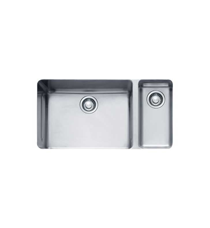 Franke KBX160 Kubus Double Basin Undermount Stainless Steel Kitchen Sink