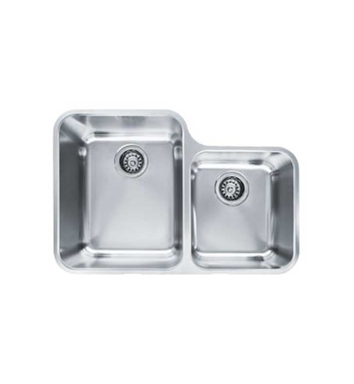 Franke LAX16030 Largo Double Basin Undermount Stainless Steel Kitchen Sink