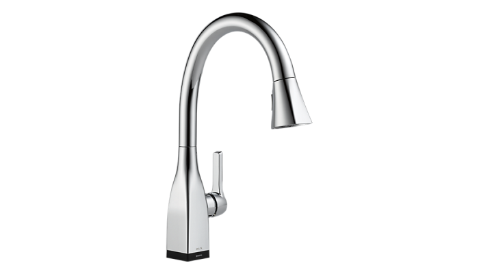 Delta Mateo® Single-Handle Pull-Down Kitchen Faucet with Touch2O® Technology Polished Chrome 9183T-DST