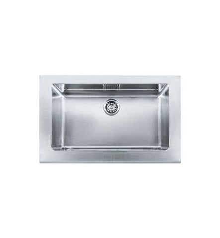 Franke MHX-KBX11028 Manor House Single Basin Drop In Stainless Steel Kitchen Sink