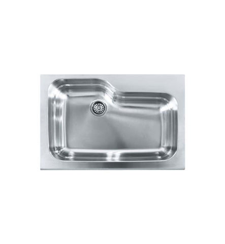 Franke MHX-ORX110 Manor House Single Basin Drop In Stainless Steel Kitchen Sink