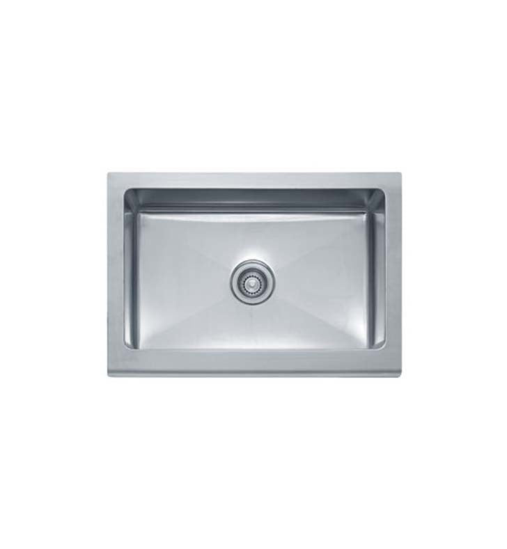 Franke MHX710-30 Manor House Single Basin Drop In Stainless Steel Kitchen Sink