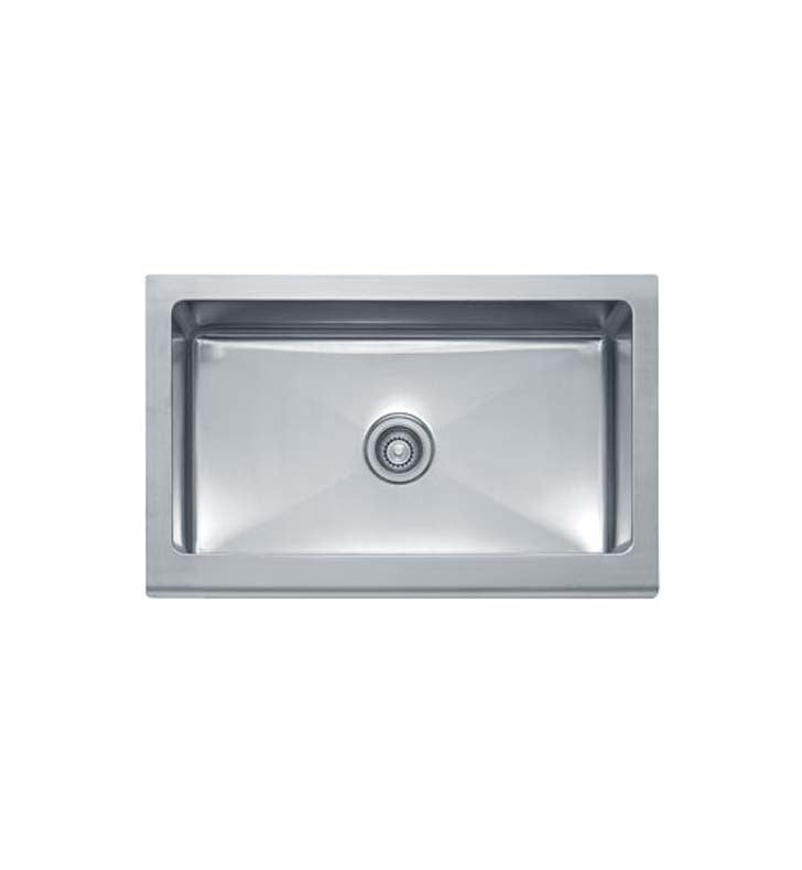 Franke MHX710-33 Manor House Single Basin Drop In Stainless Steel Kitchen Sink