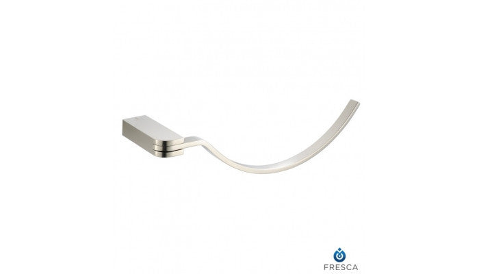 Fresca Solido Towel Ring in Brushed Nickel FAC1362BN