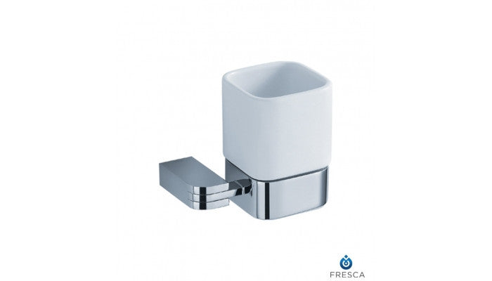 Fresca Solido Tumbler Holder in Chrome FAC1314