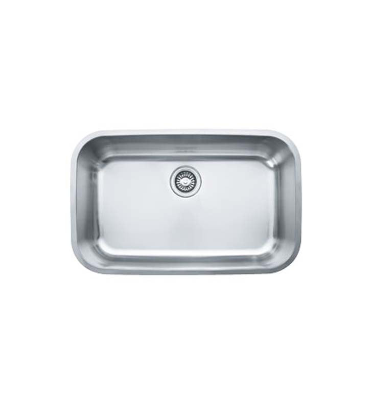 Franke OXX110 Oceania Single Basin Undermount Stainless Steel Kitchen Sink