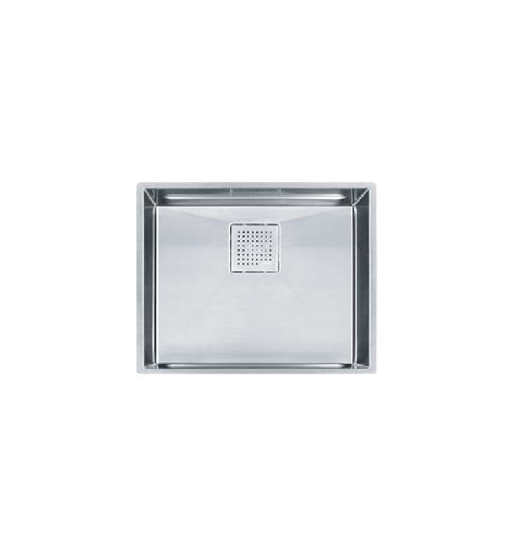 Franke PKX11021 Peak Single Basin Undermount Stainless Steel Kitchen Sink