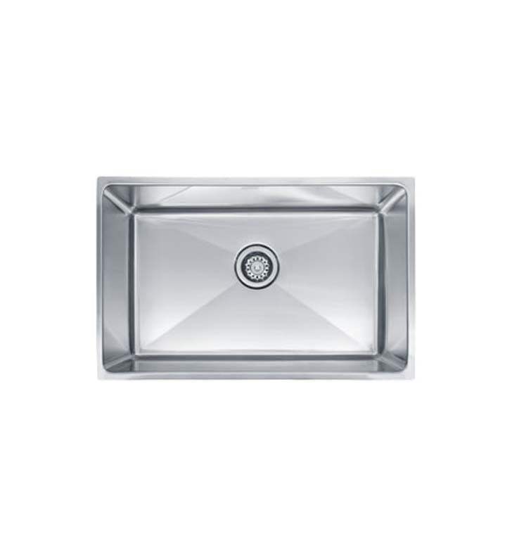 Franke PSX1102710 Professional Single Basin Undermount Stainless Steel Kitchen Sink