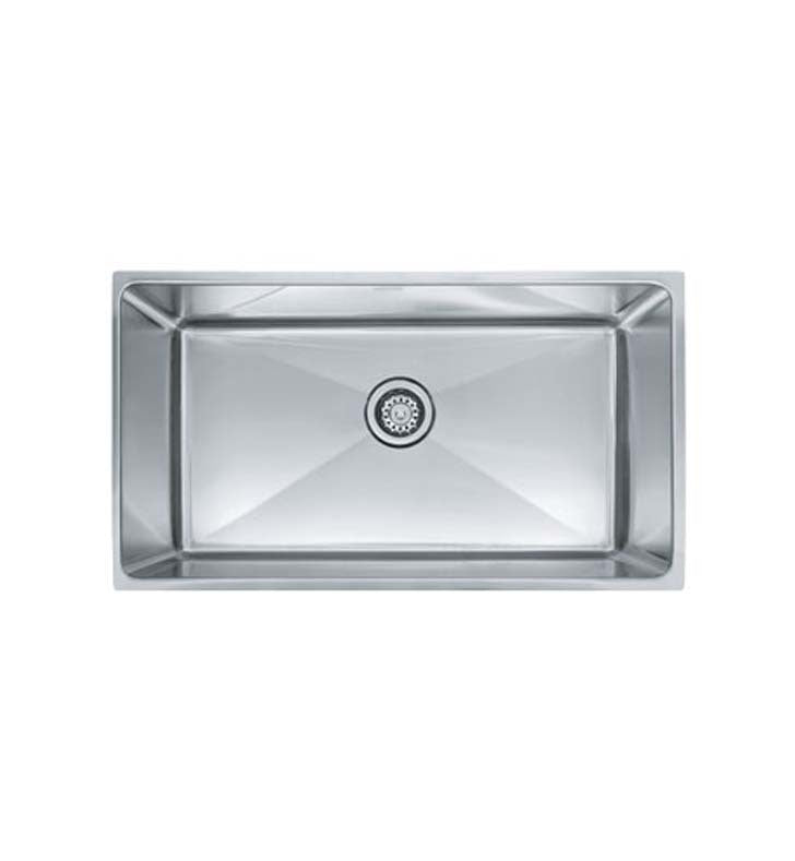 Franke PSX1103310 Professional Single Basin Undermount Stainless Steel Kitchen Sink