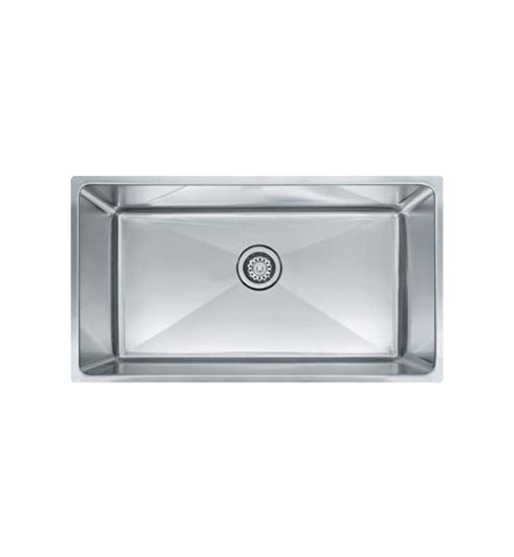 Franke PSX1103312 Professional Single Basin Undermount Stainless Steel Kitchen Sink